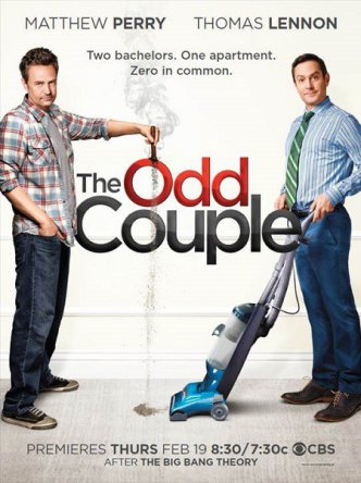 Странная парочка / The odd couple (Сезон 1) (2015)
