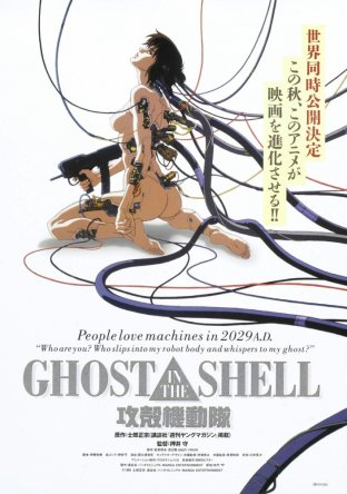 Призрак в доспехах / Kôkaku Kidôtai / Ghost in the Shell (1995)